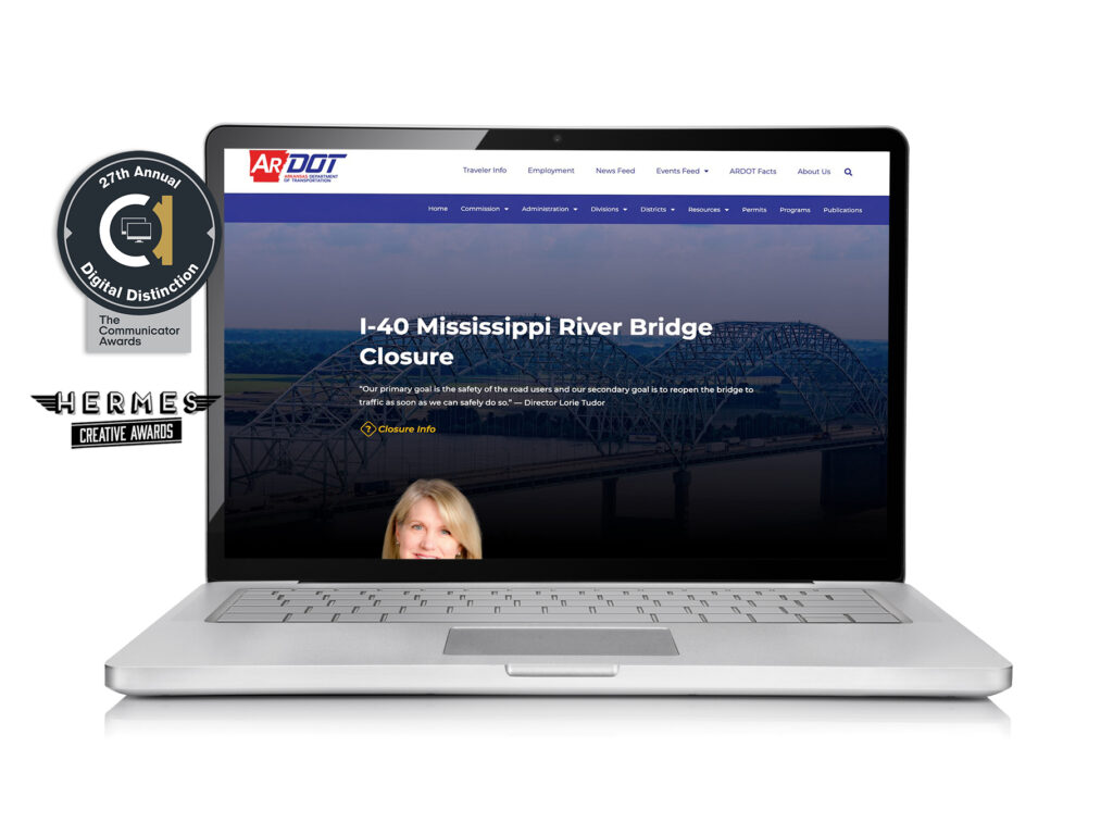 ARDOT Wins Communicator Award